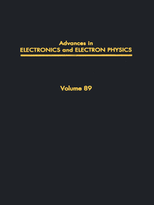 Ebook in inglese ADV ELECTRONICS ELECTRON PHYSICS V89 -, -