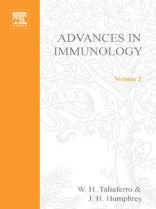 Ebook in inglese ADVANCES IN IMMUNOLOGY VOLUME 2