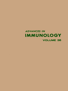 Ebook in inglese ADVANCES IN IMMUNOLOGY VOLUME 36 -, -