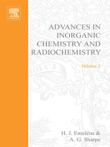 Ebook in inglese ADVANCES IN INORGANIC CHEMISTRY AND RADIOCHEMISTRY VOL 2 -, -
