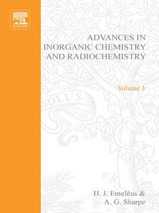 Ebook in inglese ADVANCES IN INORGANIC CHEMISTRY AND RADIOCHEMISTRY VOL 3
