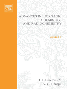 Ebook in inglese ADVANCES IN INORGANIC CHEMISTRY AND RADIOCHEMISTRY VOL 6 -, -