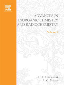 Ebook in inglese ADVANCES IN INORGANIC CHEMISTRY AND RADIOCHEMISTRY VOL 8 -, -