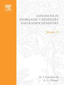 Ebook in inglese ADVANCES IN INORGANIC CHEMISTRY AND RADIOCHEMISTRY VOL 15 -, -