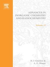 ADVANCES IN INORGANIC CHEMISTRY AND RADIOCHEMISTRY VOL 15