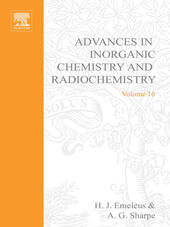 ADVANCES IN INORGANIC CHEMISTRY AND RADIOCHEMISTRY VOL 16