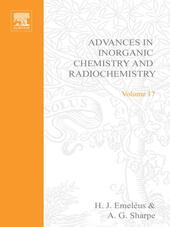 ADVANCES IN INORGANIC CHEMISTRY AND RADIOCHEMISTRY VOL 17