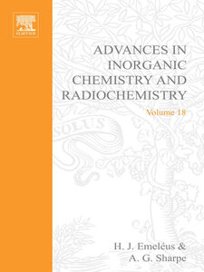 Ebook in inglese ADVANCES IN INORGANIC CHEMISTRY AND RADIOCHEMISTRY VOL 18 -, -