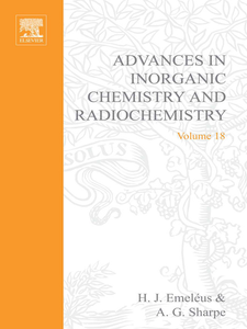 Ebook in inglese ADVANCES IN INORGANIC CHEMISTRY AND RADIOCHEMISTRY VOL 18 -, -