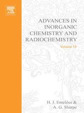 ADVANCES IN INORGANIC CHEMISTRY AND RADIOCHEMISTRY VOL 18