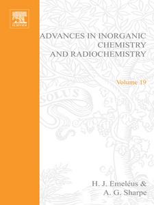 Ebook in inglese ADVANCES IN INORGANIC CHEMISTRY AND RADIOCHEMISTRY VOL 19 -, -