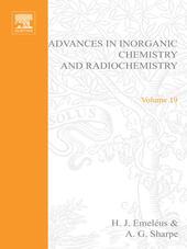 ADVANCES IN INORGANIC CHEMISTRY AND RADIOCHEMISTRY VOL 19