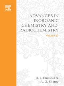 Ebook in inglese ADVANCES IN INORGANIC CHEMISTRY AND RADIOCHEMISTRY VOL 20 -, -