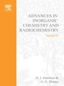 Ebook in inglese ADVANCES IN INORGANIC CHEMISTRY AND RADIOCHEMISTRY VOL 22