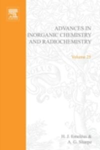 Ebook in inglese ADVANCES IN INORGANIC CHEMISTRY VOL 25
