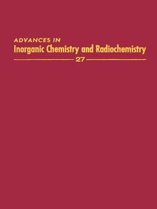 Ebook in inglese ADVANCES IN INORGANIC CHEMISTRY VOL 27