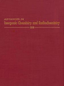 Ebook in inglese ADVANCES IN INORGANIC CHEMISTRY VOL 29 -, -