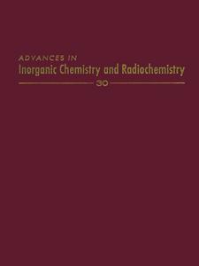 Ebook in inglese ADVANCES IN INORGANIC CHEMISTRY VOL 30 -, -