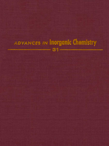 Ebook in inglese ADVANCES IN INORGANIC CHEMISTRY VOL 31 -, -