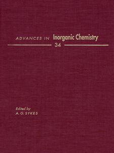 Foto Cover di ADVANCES IN INORGANIC CHEMISTRY VOL 34, Ebook inglese di  edito da Elsevier Science