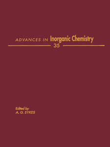 Ebook in inglese ADVANCES IN INORGANIC CHEMISTRY VOL 35 -, -