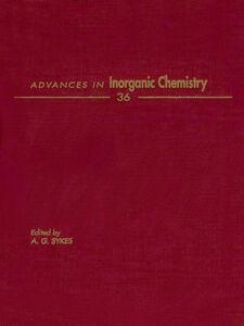 Foto Cover di ADVANCES IN INORGANIC CHEMISTRY VOL 36, Ebook inglese di  edito da Elsevier Science