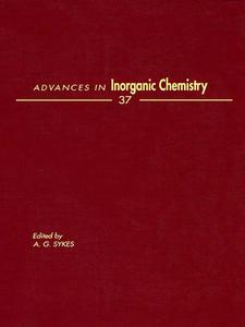 Ebook in inglese ADVANCES IN INORGANIC CHEMISTRY VOL 37 -, -
