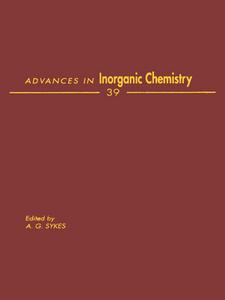 Ebook in inglese ADVANCES IN INORGANIC CHEMISTRY VOL 39 -, -