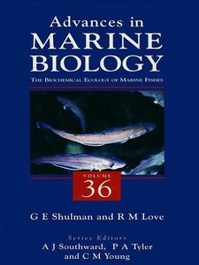 Foto Cover di The Biochemical Ecology of Marine Fishes, Ebook inglese di  edito da Elsevier Science
