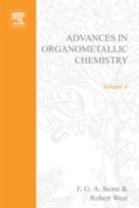 Foto Cover di ADVANCES ORGANOMETALLIC CHEMISTRY V 4, Ebook inglese di  edito da Elsevier Science