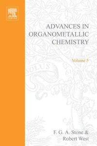 Foto Cover di ADVANCES ORGANOMETALLIC CHEMISTRY V 5, Ebook inglese di  edito da Elsevier Science