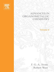Ebook in inglese ADVANCES ORGANOMETALLIC CHEMISTRY V 6