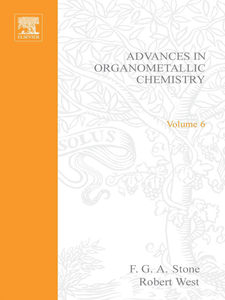 Ebook in inglese ADVANCES ORGANOMETALLIC CHEMISTRY V 6 -, -