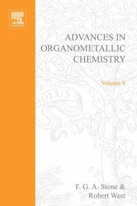 Ebook in inglese ADVANCES ORGANOMETALLIC CHEMISTRY V 9 -, -