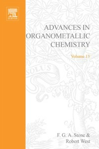 Ebook in inglese ADVANCES ORGANOMETALLIC CHEMISTRY V13 -, -