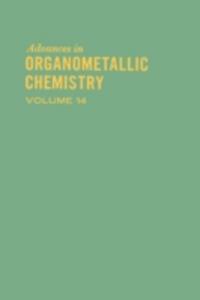 Ebook in inglese ADVANCES ORGANOMETALLIC CHEMISTRY V14 -, -