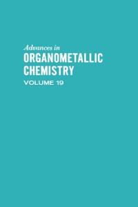 Ebook in inglese ADVANCES ORGANOMETALLIC CHEMISTRY V19 -, -