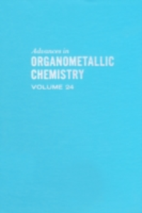 Ebook in inglese ADVANCES ORGANOMETALLIC CHEMISTRY V24 -, -