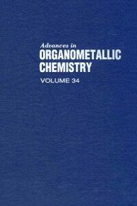 Foto Cover di ADVANCES IN ORGANOMETALLIC CHEMISTRY V34, Ebook inglese di  edito da Elsevier Science