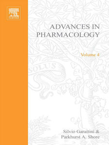 Ebook in inglese ADVANCES IN PHARMACOLOGY VOL 4 -, -