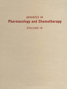 Ebook in inglese ADV IN PHARMACOLOGY &CHEMOTHERAPY VOL 19 -, -