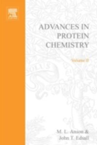 Ebook in inglese ADVANCES IN PROTEIN CHEMISTRY VOL 2