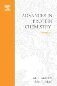 Ebook in inglese ADVANCES IN PROTEIN CHEMISTRY VOL 3 -, -