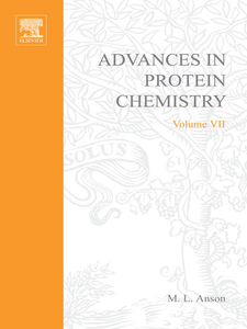 Ebook in inglese ADVANCES IN PROTEIN CHEMISTRY VOL 7 -, -