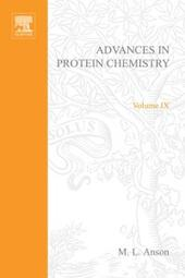 ADVANCES IN PROTEIN CHEMISTRY VOL 9