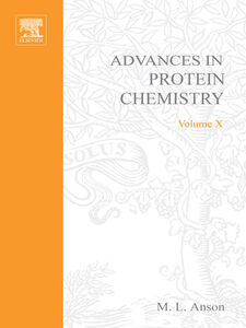 Ebook in inglese ADVANCES IN PROTEIN CHEMISTRY VOL 10