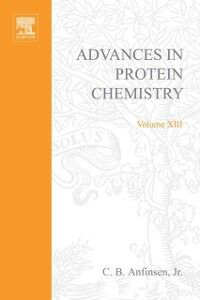 Ebook in inglese ADVANCES IN PROTEIN CHEMISTRY VOL 13