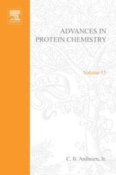 ADVANCES IN PROTEIN CHEMISTRY VOL 15