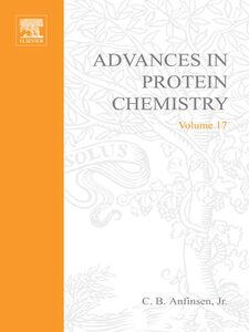Foto Cover di ADVANCES IN PROTEIN CHEMISTRY VOL 17, Ebook inglese di  edito da Elsevier Science