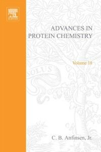 Ebook in inglese ADVANCES IN PROTEIN CHEMISTRY VOL 18